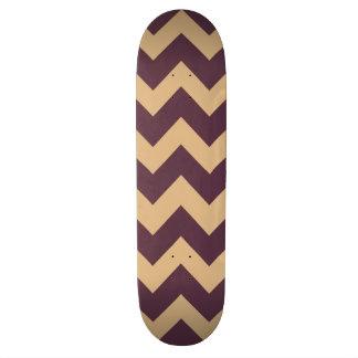 Trendy Chevron Zigzag Pattern 2 Skateboard Deck