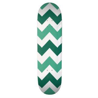 Trendy Chevron Zigzag Pattern 7 Skateboard Deck
