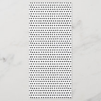 Trendy Chic Black and White Dots Pattern