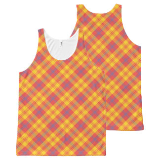 Yellow plaid men 39 s clothing apparel zazzle for Blue and yellow plaid dress shirt