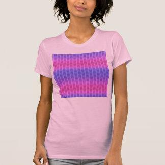 Trendy Chic Girly Pink Blue Zigzag Stripes Pattern Shirt