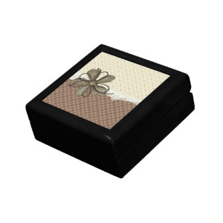 Trendy & Chic Tile Keepsake Box