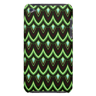 Trendy Chinese Dragon Scale Scallop ZigZag Pattern Case-Mate iPod Touch Case