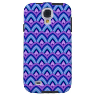 Trendy Chinese Dragon Scale Scallop ZigZag Pattern Galaxy S4 Case