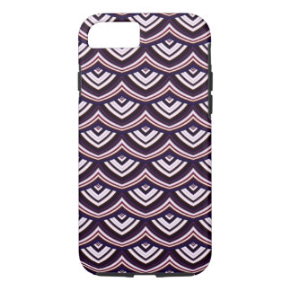Trendy Chinese Dragon Scale Scallop ZigZag Pattern iPhone 7 Case