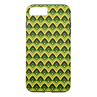 Trendy Chinese Dragon Scale Scallop ZigZag Pattern iPhone 8 Plus/7 Plus Case