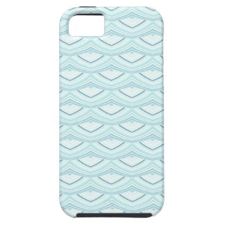 Trendy Chinese Dragon Scale Scallop ZigZag Pattern iPhone SE/5/5s Case