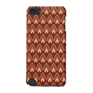 Trendy Chinese Dragon Scale Scallop ZigZag Pattern iPod Touch 5G Case