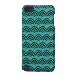 Trendy Chinese Dragon Scale Scallop ZigZag Pattern iPod Touch (5th Generation) Case