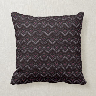 Trendy Chinese Dragon Scale Scallop ZigZag Pattern Pillows