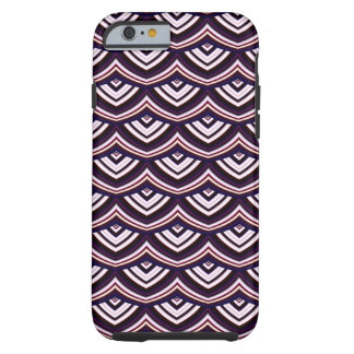 Trendy Chinese Dragon Scale Scallop ZigZag Pattern Tough iPhone 6 Case
