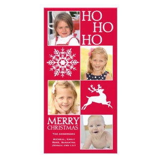 Trendy Christmas Photo Card