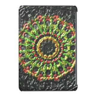 Trendy circle pattern iPad mini cover