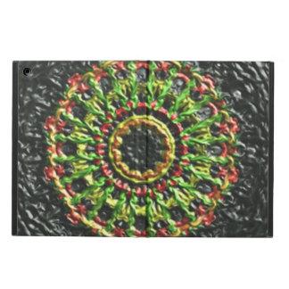Trendy circle pattern iPad air cover