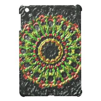 Trendy circle pattern iPad mini cases