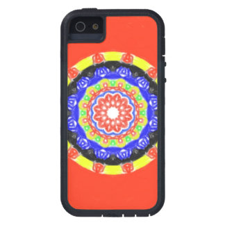 Trendy circle pattern iPhone SE/5/5s case