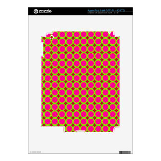 Trendy circle pattern skin for iPad 3