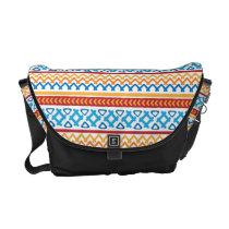 Trendy colorful Boho Pattern Messenger Bag