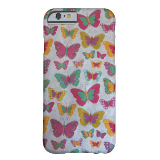 Trendy colorful butterflies iPhone 6, Barely There Barely There iPhone 6 Case