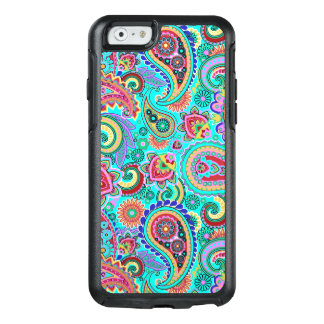 Trendy Colorful Paisley Seamless Pattern OtterBox iPhone 6/6s Case