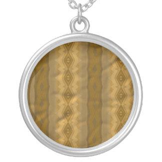 Trendy colorful paper pattern custom jewelry