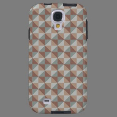Trendy colorful pattern galaxy s4 case