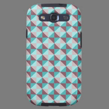 Trendy colorful pattern galaxy SIII cover