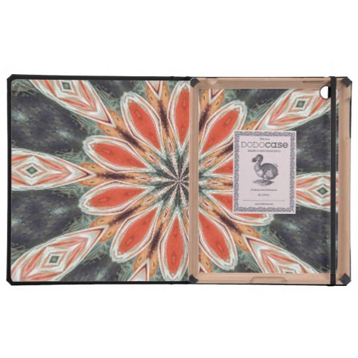 Trendy colorful pattern iPad covers