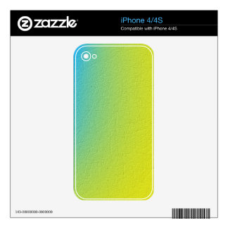 Trendy colorful pattern iPhone 4S skins