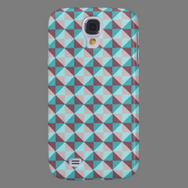 Trendy colorful pattern samsung galaxy s4 covers