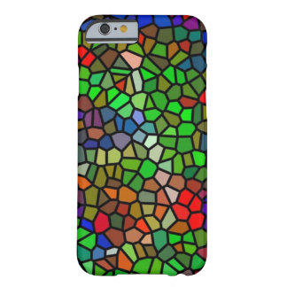 Trendy Colorful stained glass Barely There iPhone 6 Case