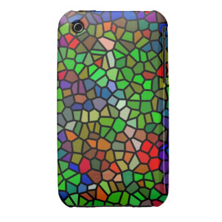 Trendy Colorful stained glass iPhone 3 Covers