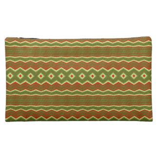 Trendy Colorful tribal pattern Cosmetics Bags