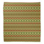 Trendy colorful tribal pattern do-rag