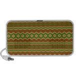 Trendy Colorful tribal pattern Travel Speaker