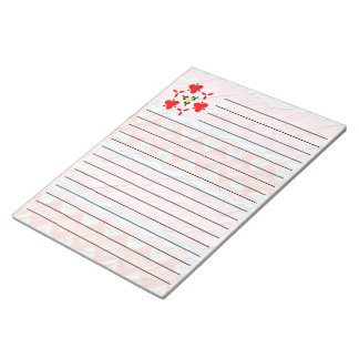 Trendy colorful unique Pattern Notepad