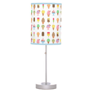 Trendy Colourful Ice Cream Desserts For Summer Table Lamp