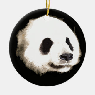 Trendy Cool Chic Hot Panda Christmas Tree Ornament