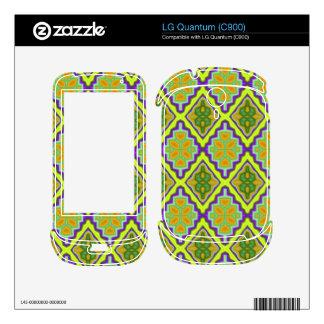 Trendy cool colorful pattern LG quantum skins