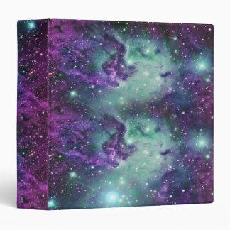 Trendy Cool Sparkly New Nebula Design Binder
