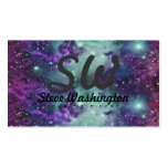 Trendy Cool Sparkly New Nebula Design Double-Sided Standard Business Cards (Pack Of 100)
