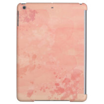 Trendy Coral Reef Watercolor Paint Background Case For iPad Air