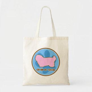 Trendy Coton de Tulear Tote Bag