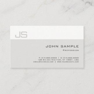 Trendy Creative Simple Elegant Professional Plain Business Card