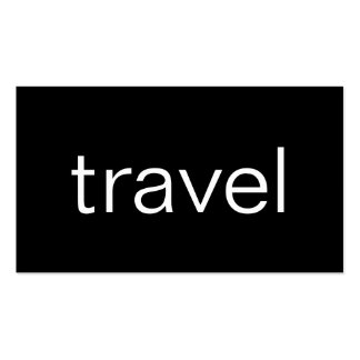 Trendy Cute Chic Travel Agent Business Card