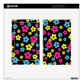 Trendy Daisy Flower Kindle Skin Cover