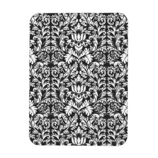 Trendy Decorator Floral Damask Trellis Pattern Rectangular Photo Magnet