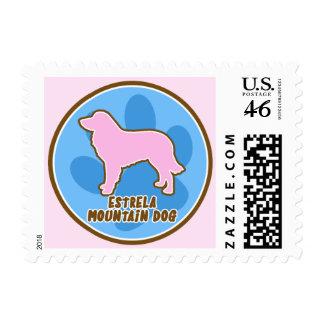 Trendy Estrela Mountain Dog Postage Stamps