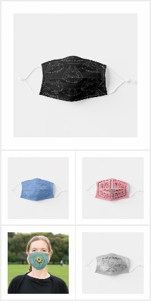 Trendy Face Masks with Words, Quotes, Verses