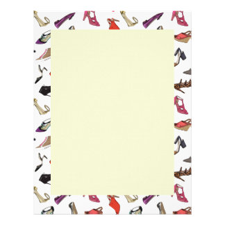 Trendy fashion shoes Letterhead
